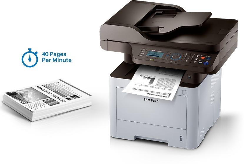Fotocopiadora/Multifuncion Monocromatica SAMSUNG SL-M4072FD tamaño Oficio